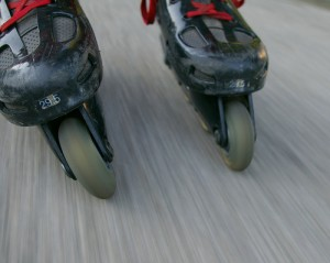 Rollerblades by SBlueRock, Flickr